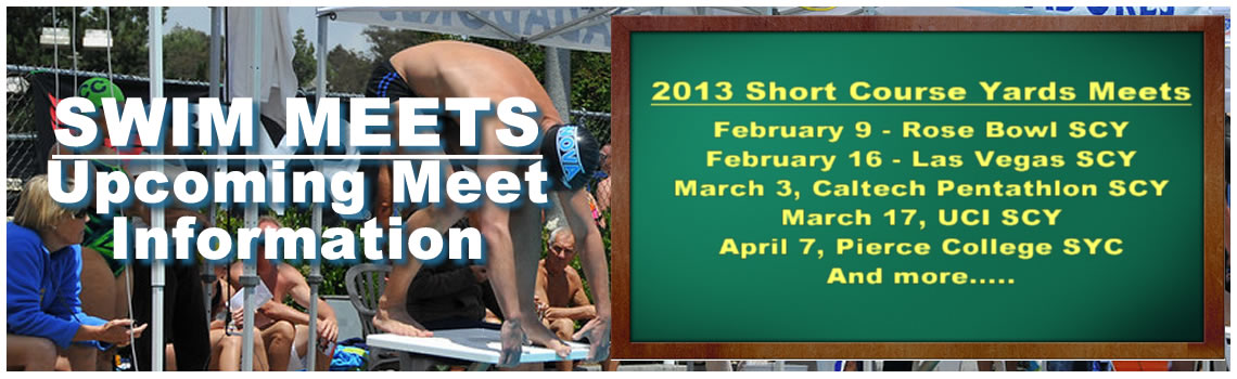 2013 Nova Masters Swim Meet and Event Schedule